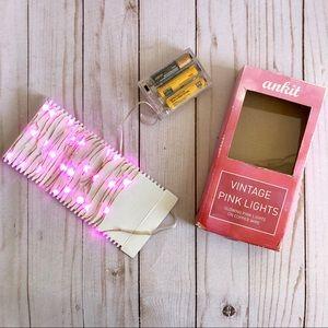 Francesca's Pink Fairy Lights